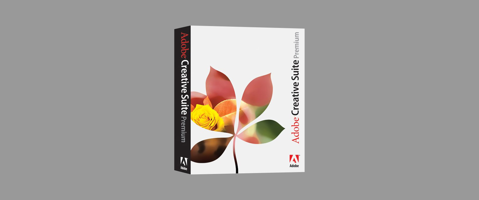 Adobe Creative Suite Box